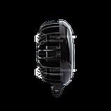 Светодиодная фара LED (ЛЕД) круглая 30W (3 диода) red   VTR, фото 2