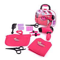 Игровой набор для девочек в чемодане Lesko BJ1306 Парикмахерская КОД: 6233-20983