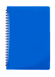 Блокнот А5 80л.GLOSS клітка, пружина збоку, пластик, фото 2
