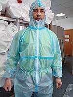 Комбинезон одноразовый защитный ДСТУ ЕН 14126:2008