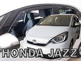Дефлектори вікон (вітровики)HONDA JAZZ IV 5d 2019r.→(+OT)
