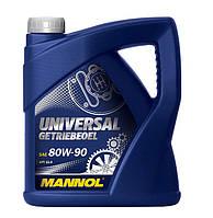 Трансмиссионное масло Universal Getriebeoel 80W-90 API GL 4 MANNOL 1л