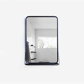 Зеркало Mon Bon L22 80x55x12 Черный КОД: ZL221