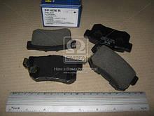 Колодка тормозная диска HONDA CIVIC 01-05, CRV 2.0 16V 02-05, SHUTTLE 2.2 94- задний | SANGSIN