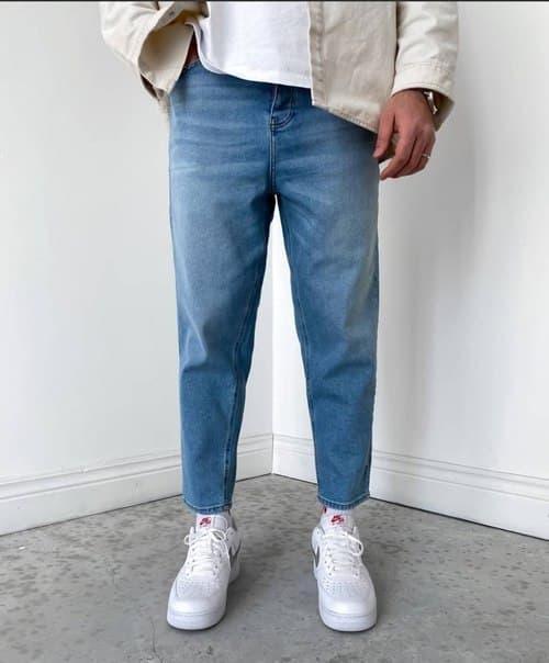 Чоловічі джинси МОМ Туреччина (щільні) Широкі джинси чоловічі