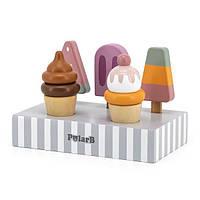 Деревянный игровой набор Viga Toys PolarB Мороженое (44057)