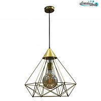 Люстра потолочная AuroraSvet loft ASTER золотая.LED светильник бра. Светодиодный светильник бра.