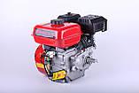 Двигун бензиновий TATA 170F (зі знижувальним редуктором 1/2, 7 л. с.), фото 2
