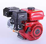 Двигун бензиновий TATA 170F (зі знижувальним редуктором 1/2, 7 л. с.), фото 3