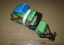 Стяжка вантажу, 2t. 50mm.x5m.(0.5+4.5) євро ручка (ARMER)