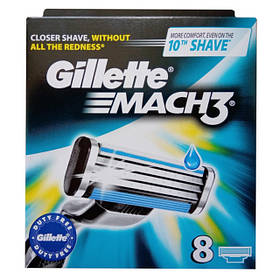 Сменные кассеты Gillette Mach3 Original (8 шт) 01468