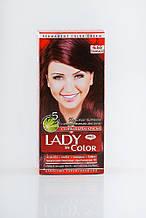 Lady in color фарба для волосся №6.65 Бордо