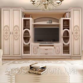 Модульная горка в гостиную Василиса со шкафами