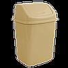 Ведро для мусора 10 л с кришкой Алеана