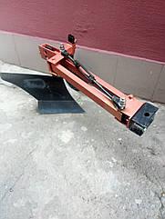 Плуг поворотный мотоблочный с опорным колесом