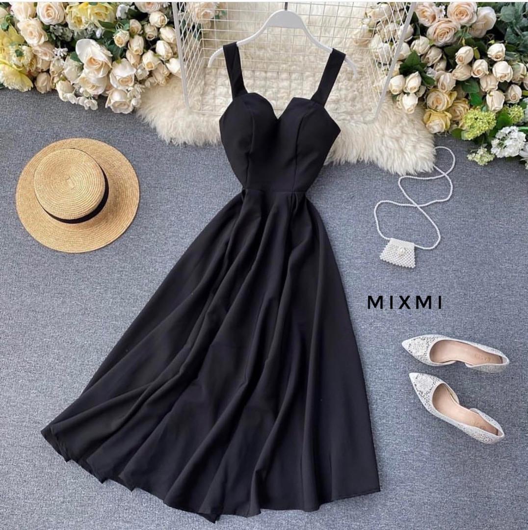 Жіноче плаття, супер - софт, р-р 42-44; 44-46 (чорний)