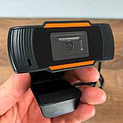 Веб камера C12 с микрофоном для компьютера ПК ноутбука вебка usb web camera вебкамера