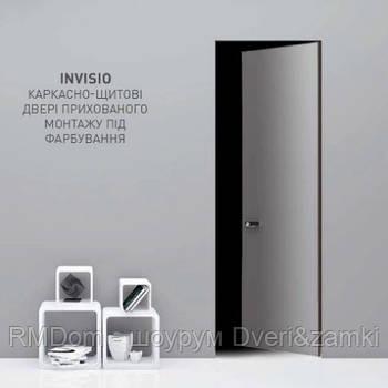 Міжкімнатні двері прихованого монтажу Korfad модель Invisio-02