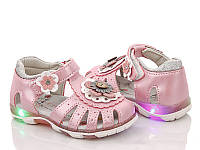 Сандали для девочки. Босоножки для девочки Сандалии детские ортопедические Обувь детская, 22 размер (розовые)