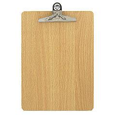 """DSCN0990 Планшет деревянный """"Дерево"""" А4, с металлическим прижимом, 1шт/этик."""
