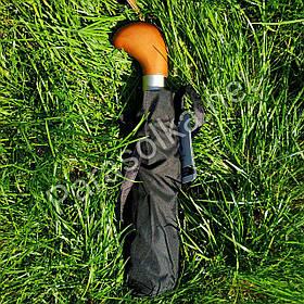 Зонт мужской Серебряный дождь с круглой ручкой арт.01F