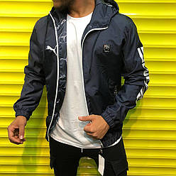 Мужская куртка ветровка Puma Mercedes AMG.Size S