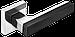 Ручка к межкомнатной двери Z-1410, фото 2