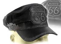 Модель №374 Кашкет шкіряна Route 66, фото 1