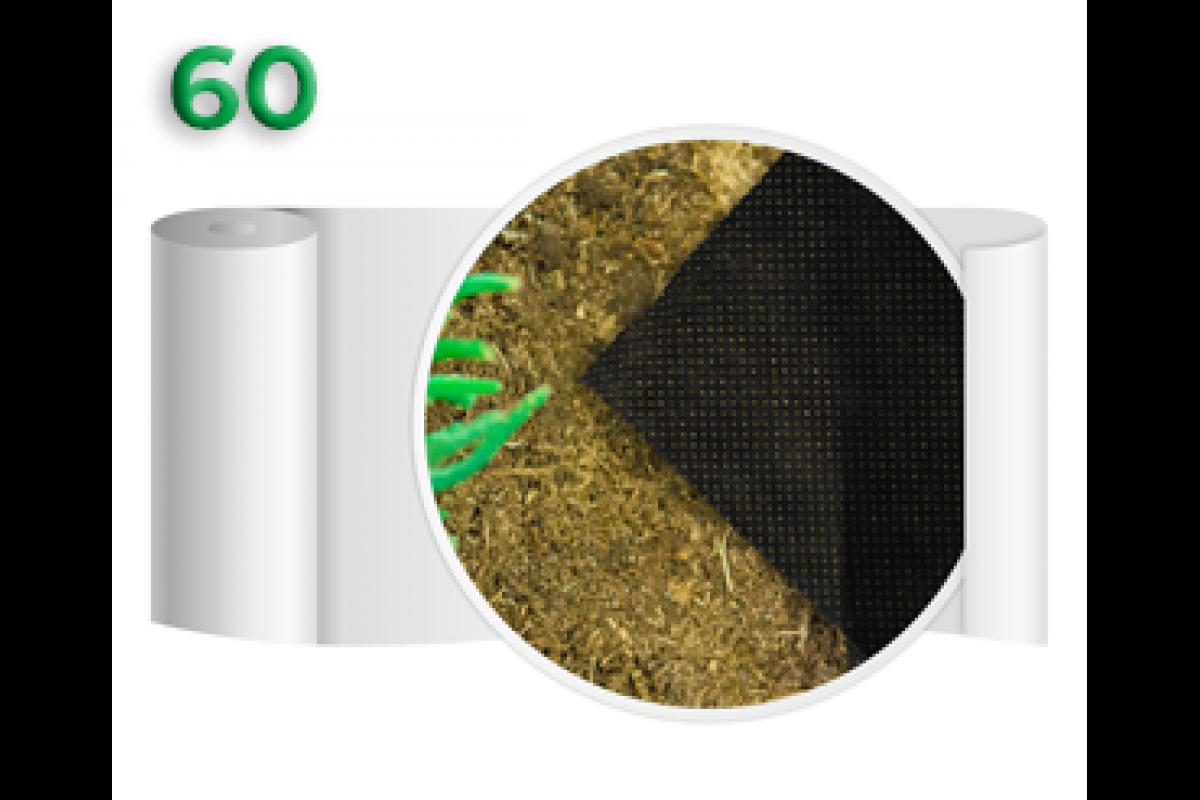 Агроволокно 60 Черное (3,2x100м)