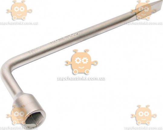 Ключ балонний L-подібний 350х22мм ВОЛГА (пр-во Intertool) З 963763 БЕНКЕТ 36503, фото 2