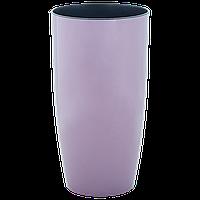 """Вазон """"Альфа"""" d16*30см. (фиолетовый)"""