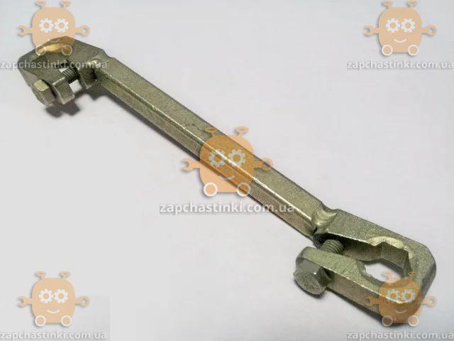 Ключ прокачки тормозов 8х10мм ВАЗ 2101 - 2107 (поджимной) (пр-во Украина) З 83173 ПД 23779