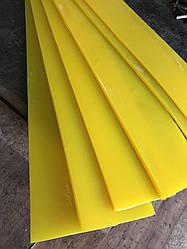 Скребок полиуретановый на вальцы катка  Ammann ARX40