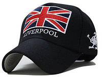 Модель №57.2 Вовняна кепка Liverpool. Бейсболка утеплена, фото 1