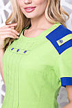 Платье ТМ ALL POSA Фаворит лайм 54 (4919-1), фото 2