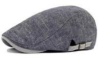 Модель №132 Серая кепка-коппола