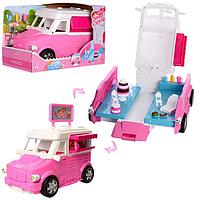 """Машинка для куклы """"Магазин-Кондитерская"""" Игрушка машинка с аксессуарами для куклы Машинка-магазин для девочки"""