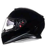 Мотошлем MT Thunder 3 SV Solid Gloss Black, размер L