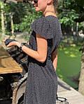Женское платье, супер - софт, р-р 42-44; 44-46 (чёрный), фото 2
