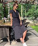 Женское платье, супер - софт, р-р 42-44; 44-46 (чёрный), фото 4