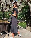 Женское платье, супер - софт, р-р 42-44; 44-46 (чёрный), фото 3