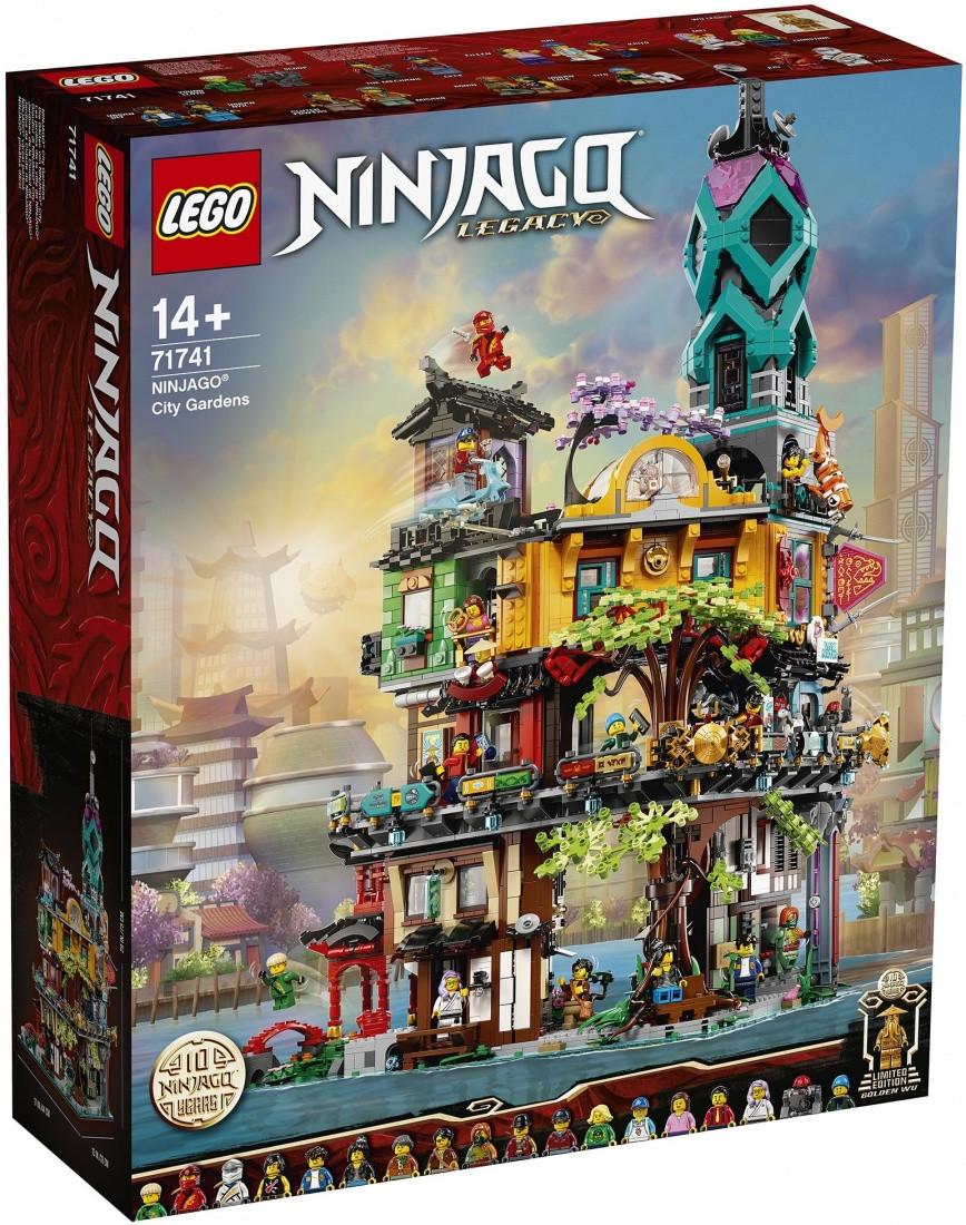 Lego Ninjago Сады Ниндзяго-Сити 71741