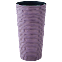 """Горшок для цветов """"Фьюжн"""" d16*30см. (фиолетовый)"""