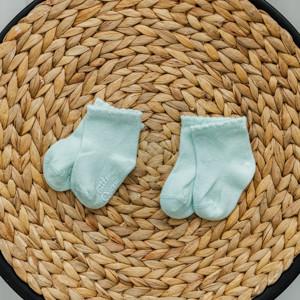 """Шкарпетки """"Little"""" м'ятні"""