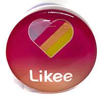 Держатель (попсокет) для телефона Likee розовый