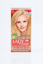 Lady in color фарба для волосся №8.1 Світло русий