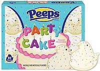Птички с маршмеллоу Peeps Party Cake 10 chicks 85g