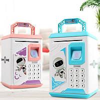 Дитячий електронний сейф-скарбничка Робот ROBOT BODYGUARD., фото 1