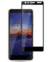 Защитное стекло 5D для Nokia 3.1
