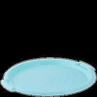 Поднос круглый d388,5*24,5мм. (салатовый)